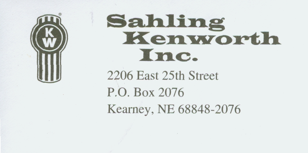 Sahling Kenworth Inc.